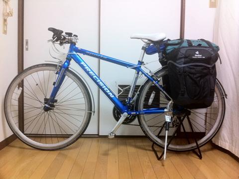 自転車の 自転車 旅 クロス ロード : 旅クロスバイク装備追加 at ...